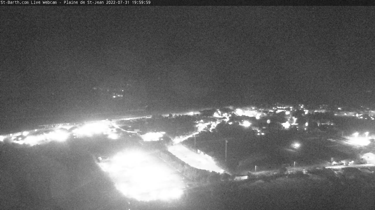 Webcam Plaine de St-Jean St Barthelemy