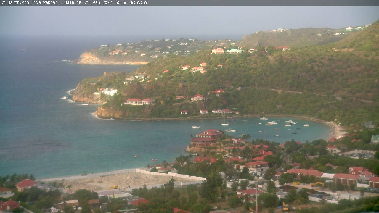 Webcam Eden Rock St Barthelemy
