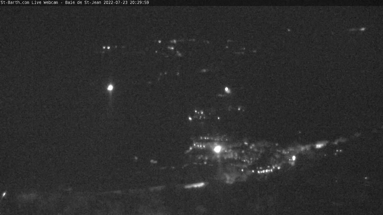 St Barth - St-Barth.com - Baie de St Jean - Webcam
