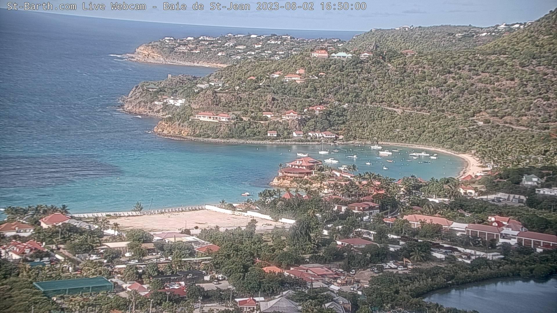 Webcam Baie de St-Jean St Barthelemy