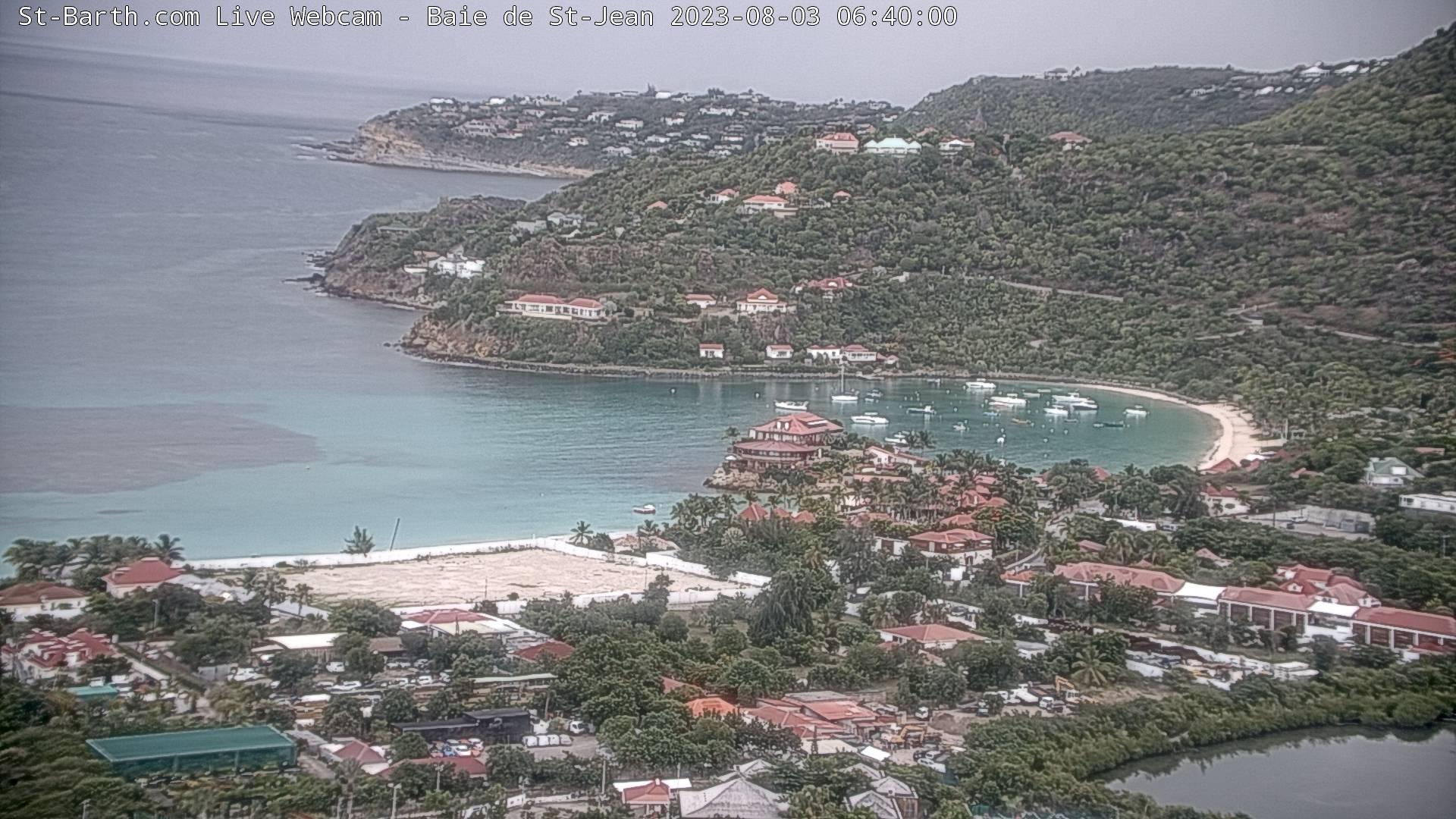 St Barth - St-Barth.com - Baie de St Jean - Webcam