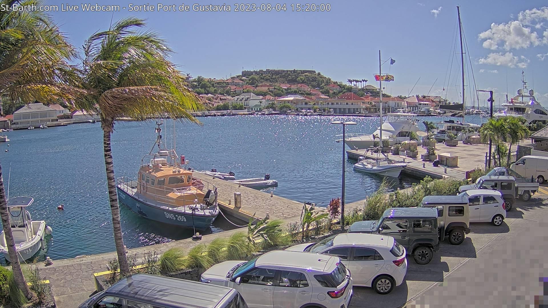 St Barth - St-Barth.com - Rade de Gustavia - Webcam