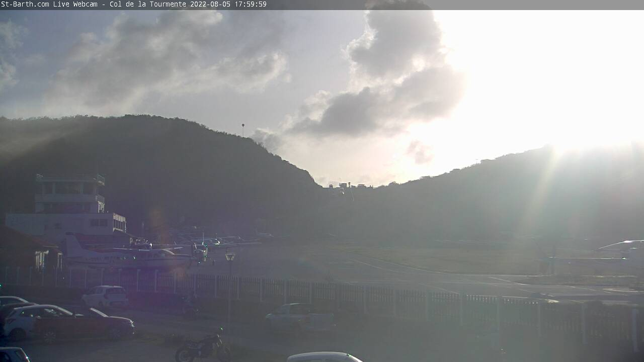 Webcam Col de la Tourmente St Barthelemy