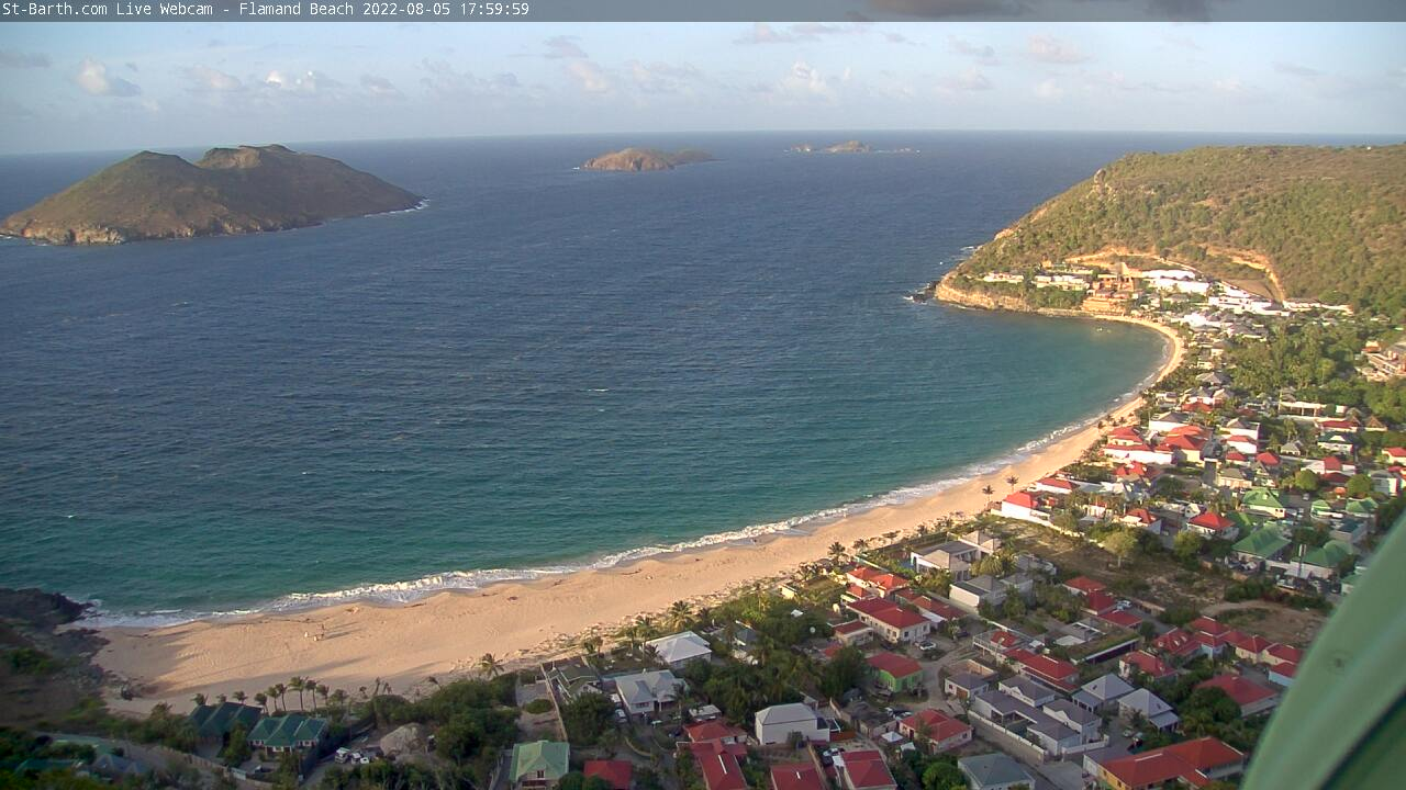 Webcam Anse des Flamands St Barthelemy