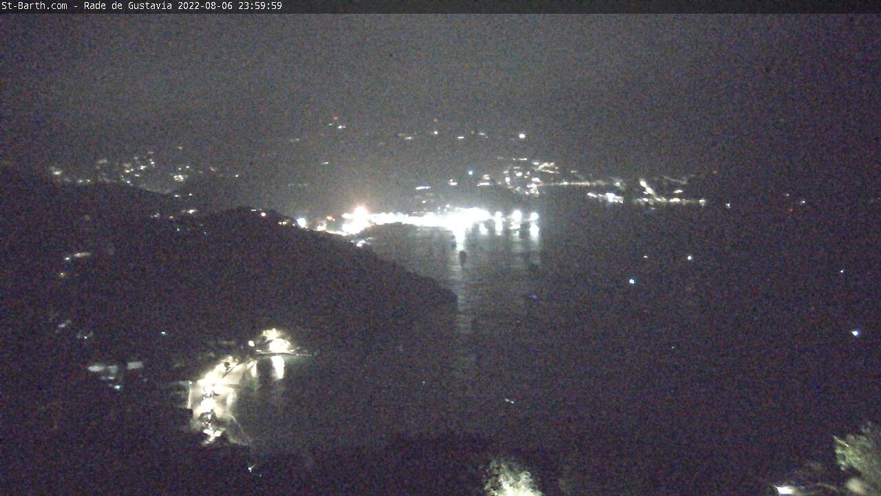 St Barth - St-Barth.com - Rade de Gustavia - Webcam