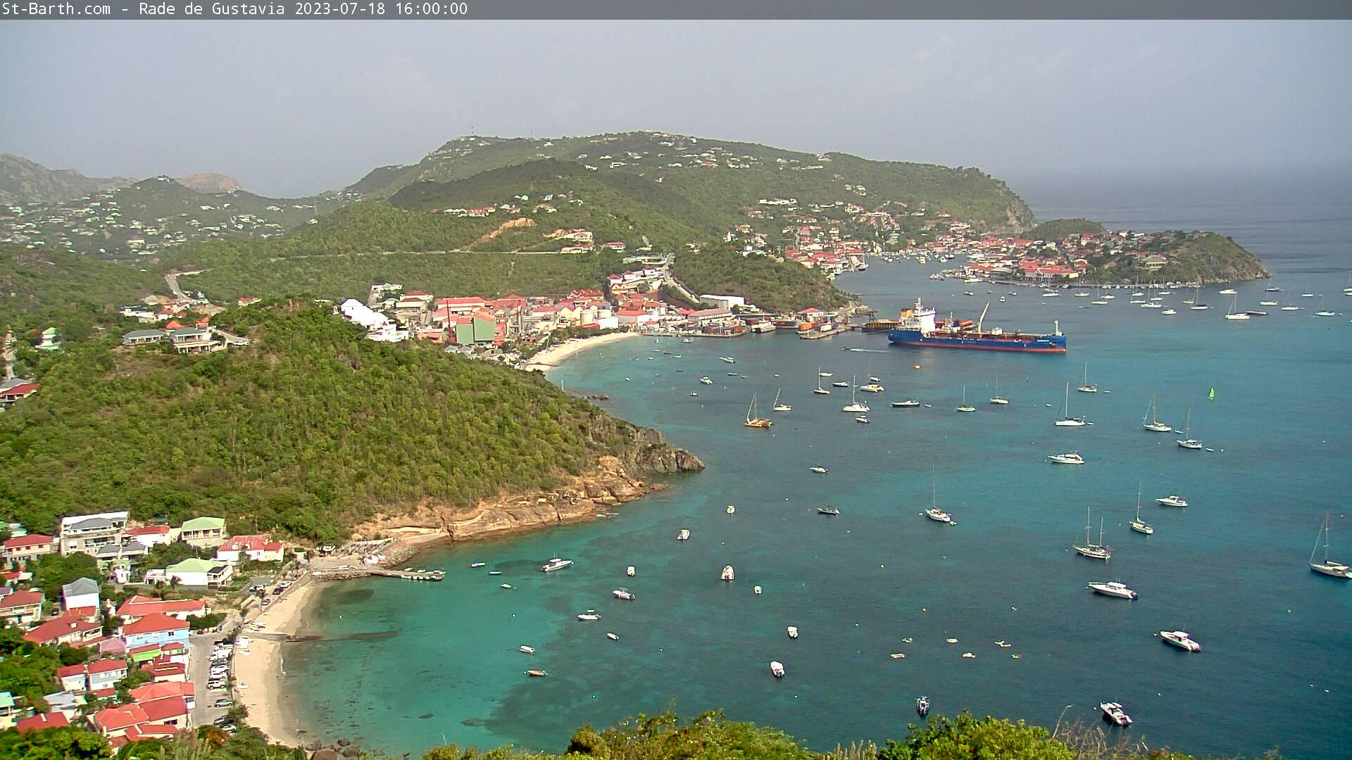 St Barth - St-Barth.com - Corossol - Public - Gustavia - Webcam